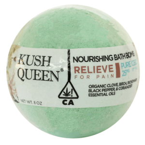 kush queen bath bomb herb rx