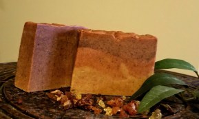 Cleopatra bar: a soothing, anti-aging soap which helps with discoloration