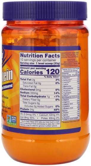 Now Foods, Sports, Pea Protein, Natural Unflavored, 12 oz (340 g), HK$ 69.00, 補充劑,蛋白質,豌豆蛋白質 HK 香港
