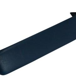 63 b body fury polara blue dash pad [ 1024 x 768 Pixel ]