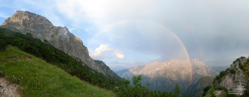 Hochtor mit Regenbogen