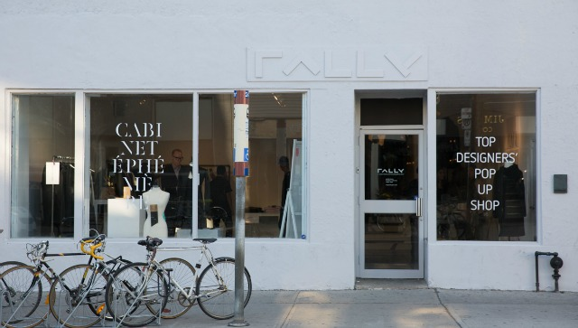 cabinet ephemere, fashion, montreal, toronto, fashion industry, rally gallery, pop-up