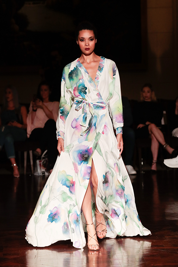 silk, floral, water color, Toronto fashion, aleks susak