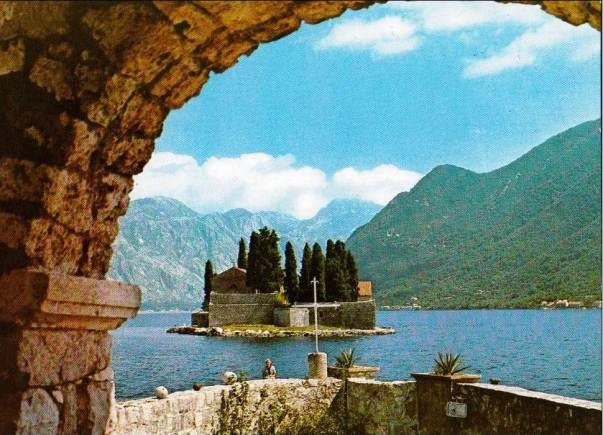 Ostrvo Svetog Đorđa pred Perastom sredinom prošlog vijeka