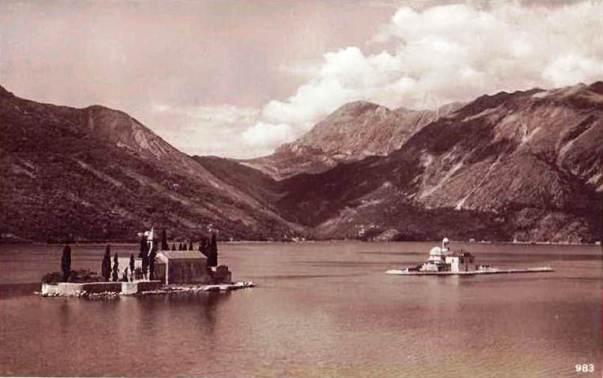 Peraški otoci dvadesetih godina 20.vijeka