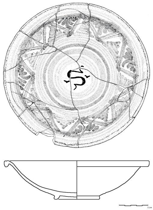 1. Tanjir, majolika Derute
