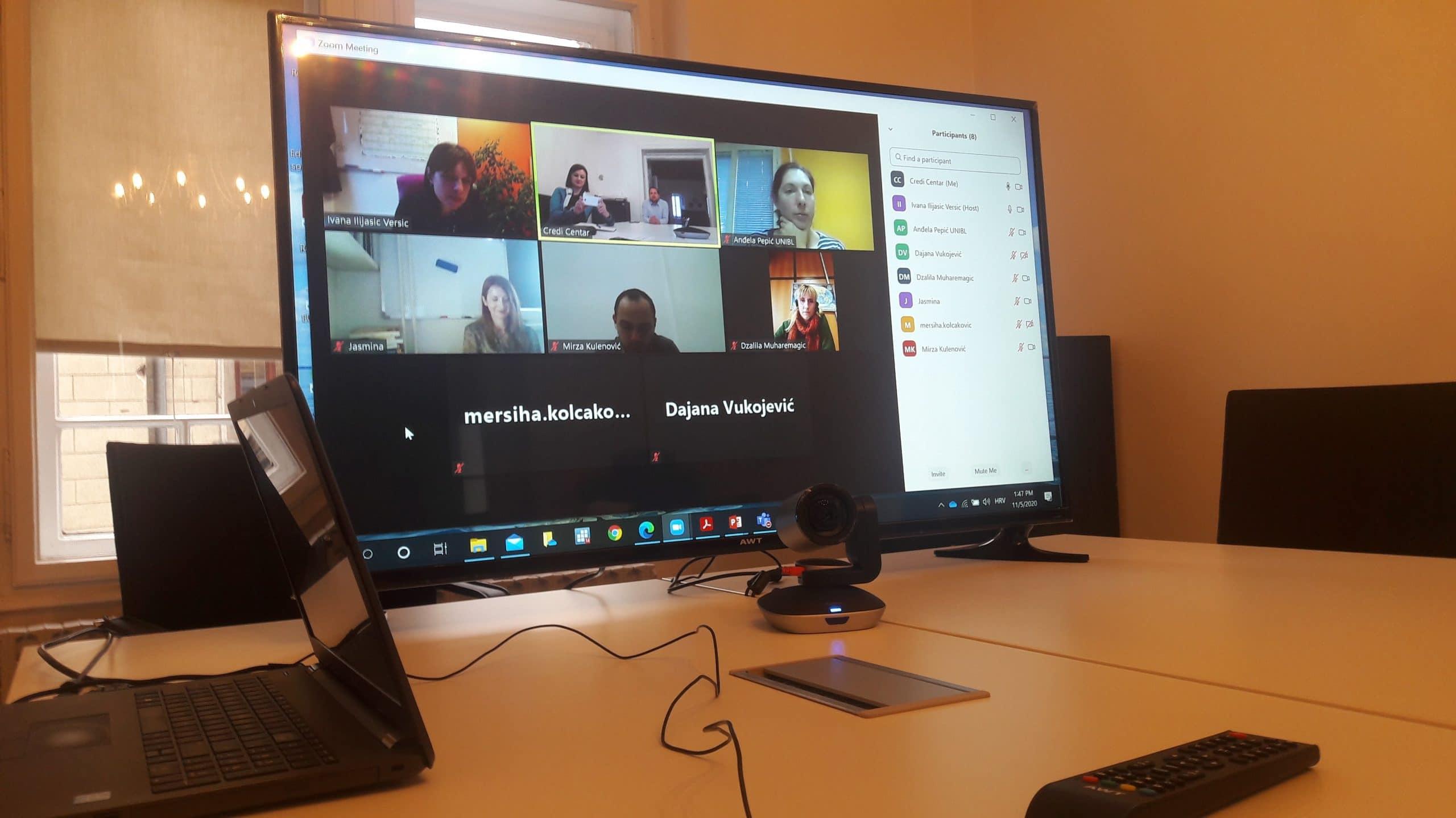 Održan prvi radni sastanak akademskog vijeća DASS-BIH mreže u Sarajevu