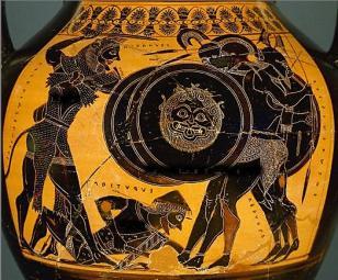 Hercule luttant contre Géryon,