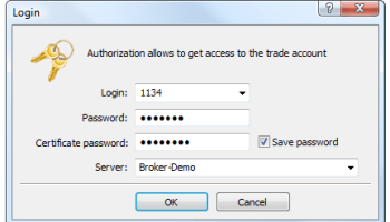 How to setup SSL certificate authentication for MT5