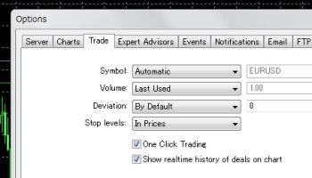 How to enable the one-click trading to close position on XM MT4 and