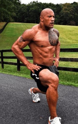 leg workout for dwayne johnson baywatch
