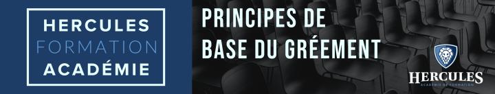 hercules formation academie Principes de Base du Gréement