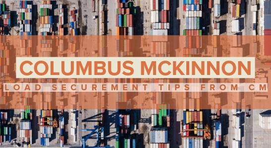 load securement columbus mckinnon at hercules slr