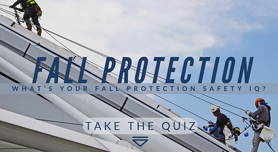 fall protection safety quiz