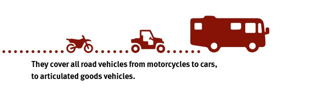 iso and road vehicles
