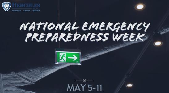 national emergency preparedness week header