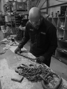 inspector, hercules inspection, chain repair
