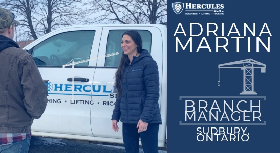 women in industry at hercules slr, adriana martin