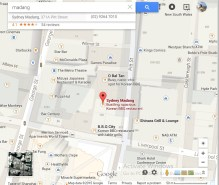 Madang map