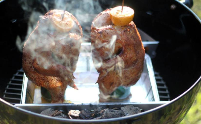 BBC – Beer Butt Chicken