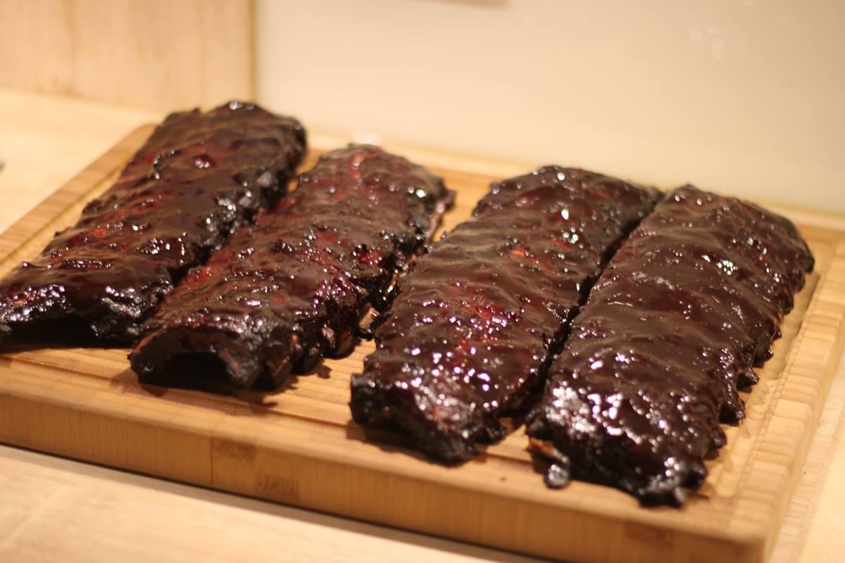 Cherry Ribs 3-2-1 - mit Anleitung für Gourmet Ribs