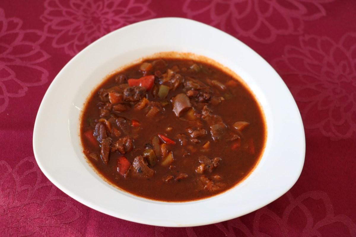 Wild-Gulasch-Suppe