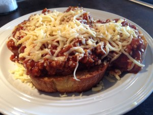 Cheesy BBQ Sloppy Joe