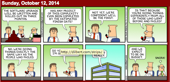 Herding Cats Managing Your Project With Dilbert Advice — Not!