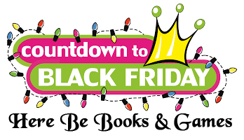 Countdown to Black Friday Sale at Here Be Books & Games