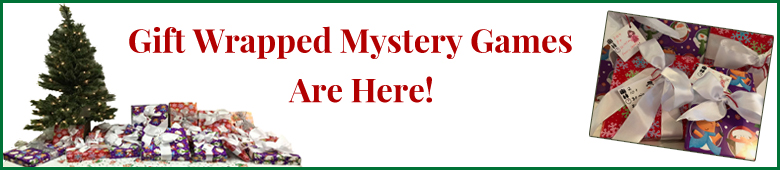 Gift Wrapped Mystery Games Are Here!