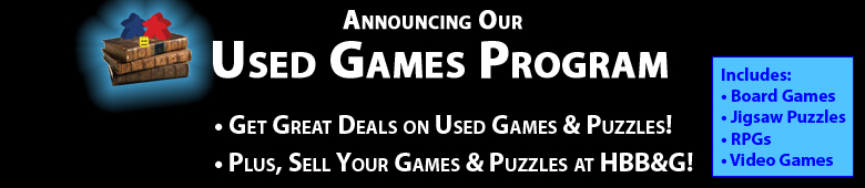 Announcing HBB&G's Used Games Program!