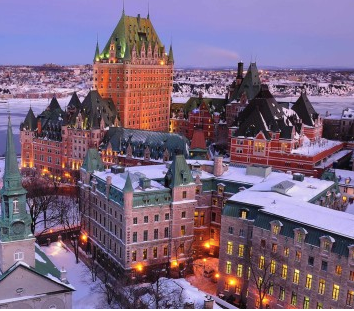 Ringing In the New Year In Old Quebec City