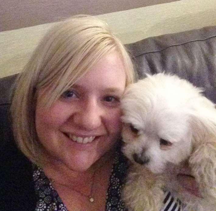 Maltese Terrier Selfie
