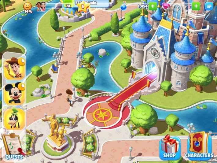 Disney Magic Kingdoms Gameloft