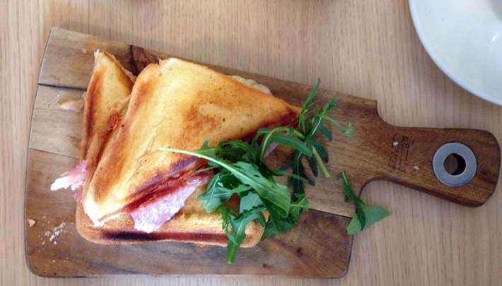 Ham and Cheese Toastie