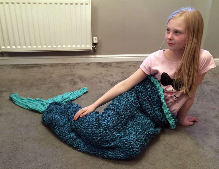Mermaid Blanket Crochet