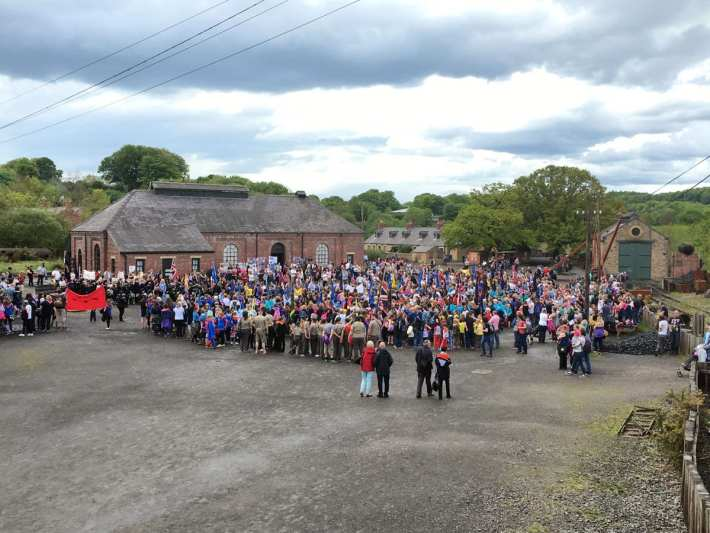 Empire Day at Beamish
