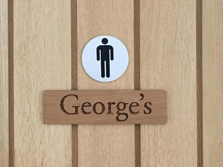 George and the Dragon Toilets