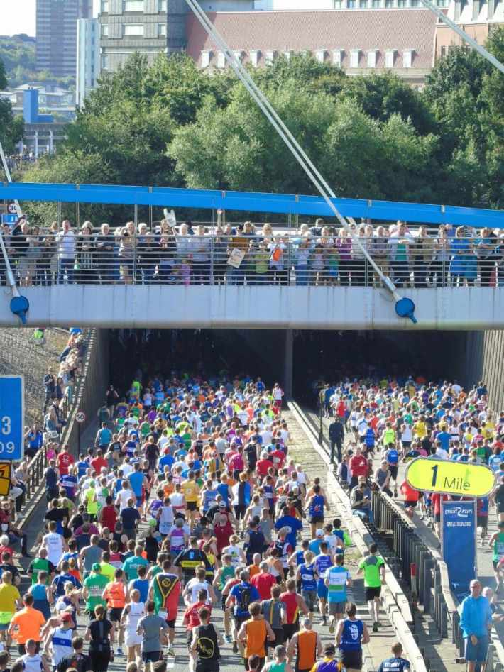Great North Run Crowd