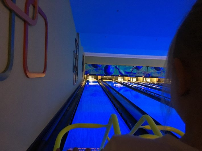 Eldon Bowling with Kids