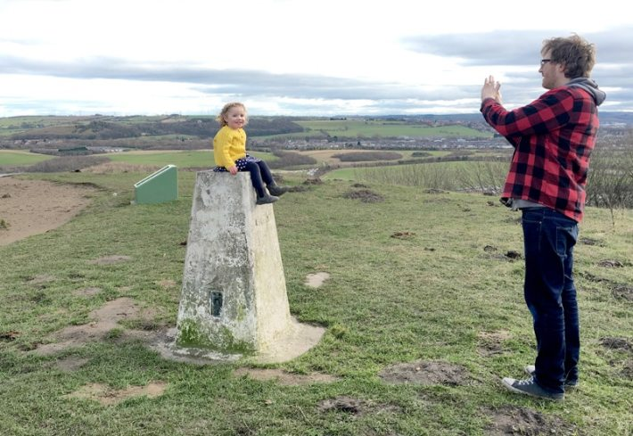 Penshaw Monument Trig Point