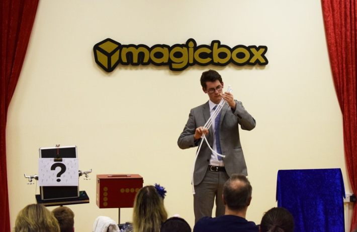 Magicbox Ross McClean