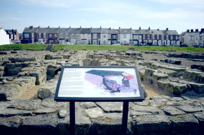 Arbeia roman fort South Shields