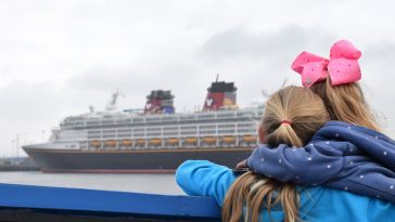 Disney Cruise Line, Newcastle