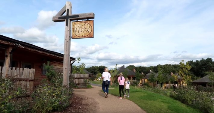 Alton Towers, Enchanted Village Woodland Lodges