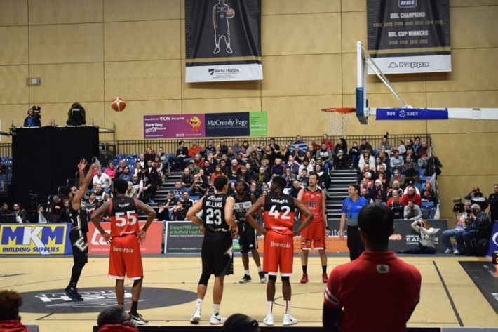 Newcastle Eagles vs Leicester Riders