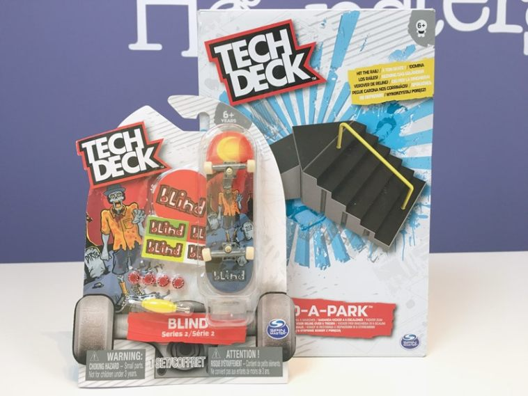 Tech Deck fingerboards and Ramp