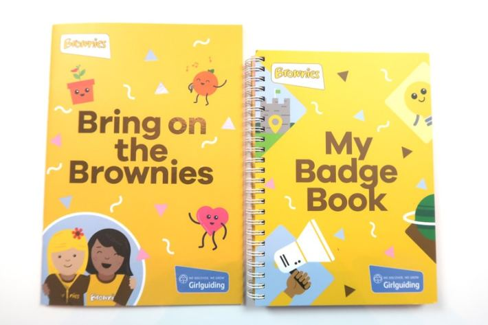 New brownie Badges 2018