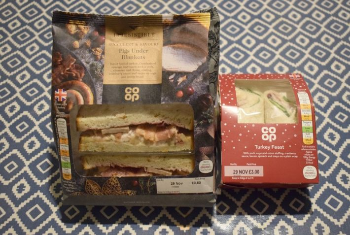 Coop Christmas Sandwiches