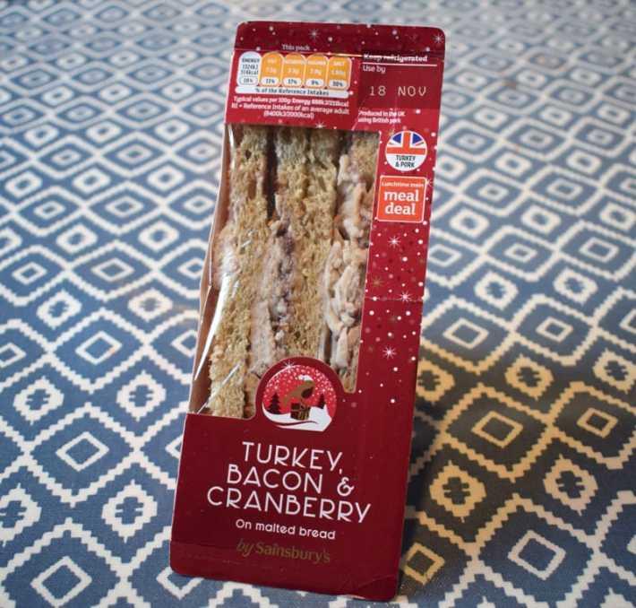 Sainsburys Christmas Sandwich
